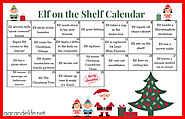 Elf on the Shelf Calendar 2013