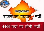 Rajasthan Patwari Recruitment 2015-Apply for 4400 Posts