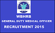 West Bengal Health Recruitment Board (WBHRB) Jobs 2015- Apply Online