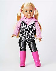 """Happy in Pink!"" Dollie - 18 inch Play Doll"