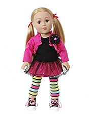Glitter Glam Dollie - 18 inch Play Doll | Dollie & Me