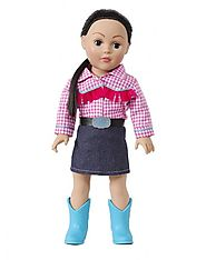 """Rodeo Girl"" Dollie - 18 inch Play Doll"