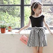 Enchanting Black dresses for your Stylish Little one