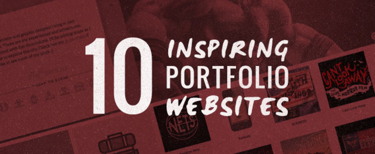 Headline for 10 Cool Website Portfolio