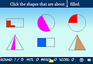 Shape Shoot - Estimate Fractions