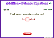 Balance Equations Games