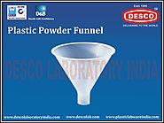 Plastic Powder Funnel Supplier India | DESCO India