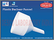 Plastic Buchner Funnel Manufacturers India | DESCO India