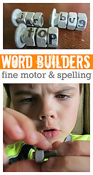 Spelling With Nuts & Bolts - No Time For Flash Cards