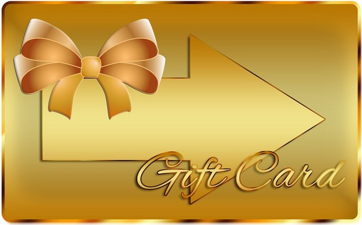Headline for Top 10 gift cards to gift this Holiday season!