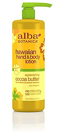 Alba Botanica Hawaiian, Cocoa Butter Hand & Body Lotion, 24 Ounce