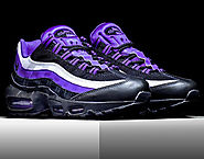 Nike Air Max 95 Persian Violet Sneaker - Latest Nike Shoes Released