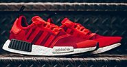 Cheap adidas NMD R1 Red Camo Shoe