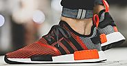 adidas Originals's NMD_R1 shoe in Lush Red - Replica adidas NMD R1 Shoe