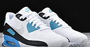 Nike Air Max 90 Ultra Essential Laser Blue Shoe - Cheap Nike Air Max 90 Replica Shoes