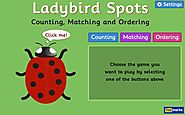 Ladybird Spots - Counting, Matching and Ordering game