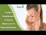 Herbal Supplements To Boost Memory In A Natural Manner