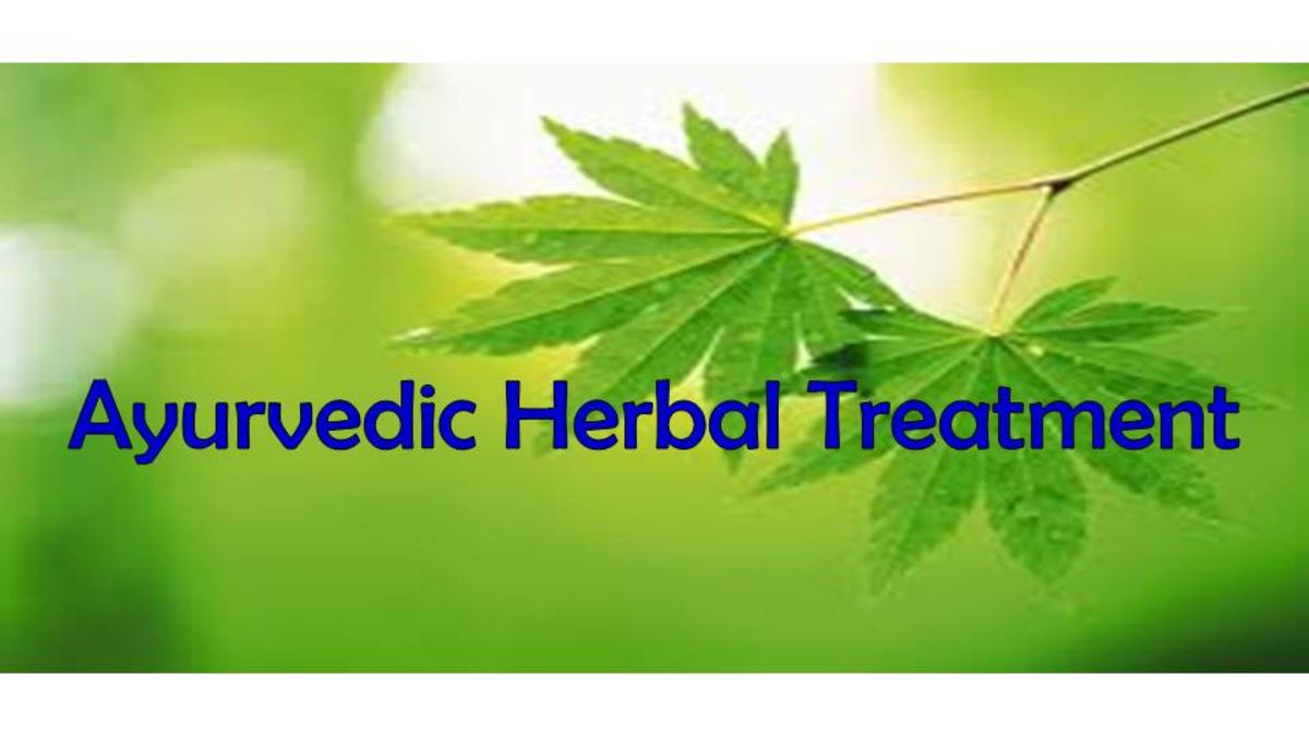 Headline for Ayurvedic Natural Treatment