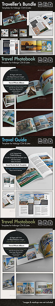 Travel Templates Bundle