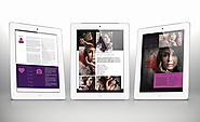 3x Tablet Portfolio Templates Bundle for Indesign