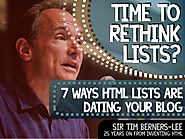 Lists Lists Lists Lists Lists Lists Lists 7 Ways Your Lists Are Looking & Acting Old