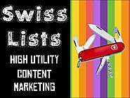 Swiss Army Knife of Content Marketing