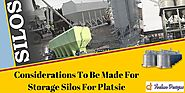 Considerations To Be Made For Storage Silos For Plastic