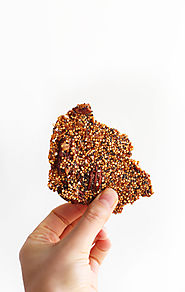 Quinoa Brittle | Minimalist Baker Recipes