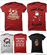Funny Christmas T Shirts - Ugly Shirts and Hoodies