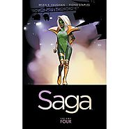 Graphic Novels & Comics : Saga, Volume 4