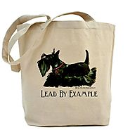 CafePress Scottish Terrier Leader Tote Bag - Standard Multi-color