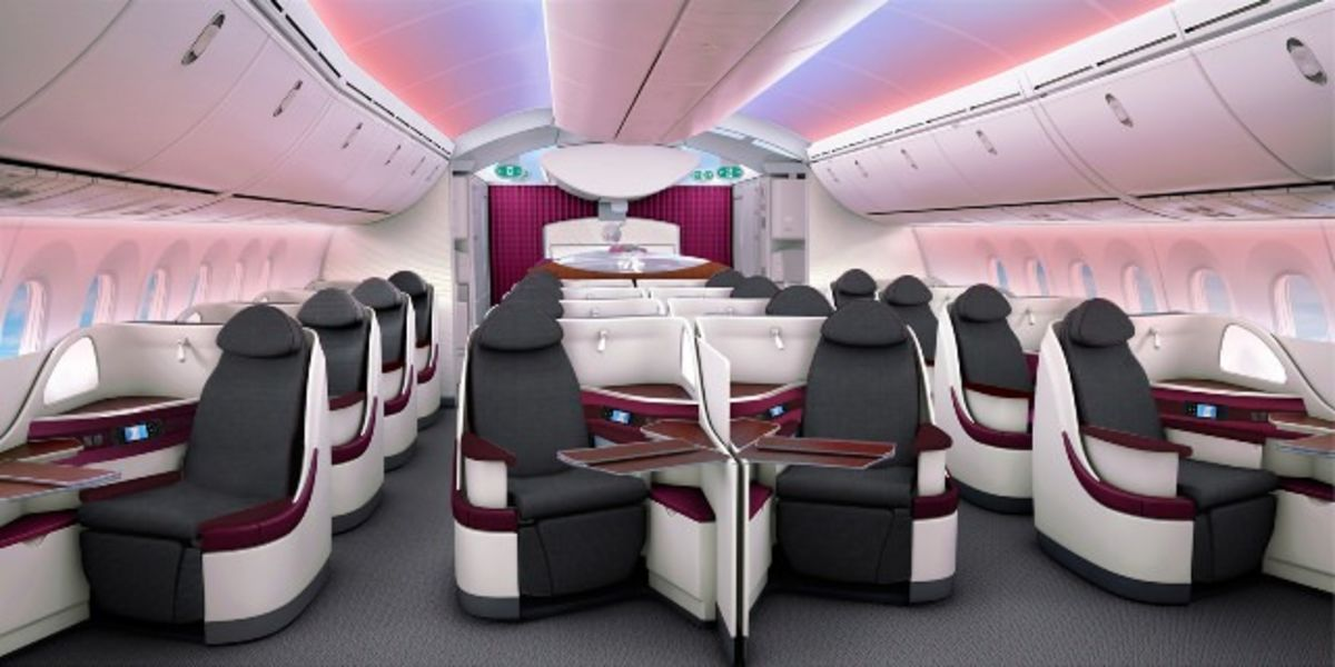 Headline for My Flight: Qatar Airways Dreamliner B787 Business Class – Doha to London
