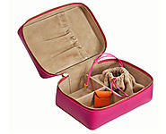 Stow Amelia Leather Luxury Case in Pink (and other colours)