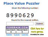 Place Value Puzzler - Rounding