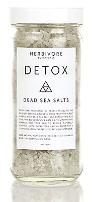 Herbivore Botanicals - Dead Sea Bath Salts (DETOX)