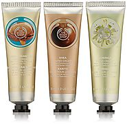 The Body Shop Nutty Hand Cream Trio