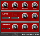 TAL - Togu Audio Line: TAL-Filter