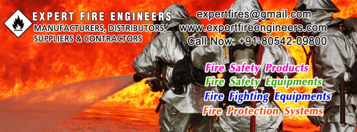 Headline for Fire safety products, Fire fighting equipments, Fire extinguishers manufacturers, suppliers, contractors in india