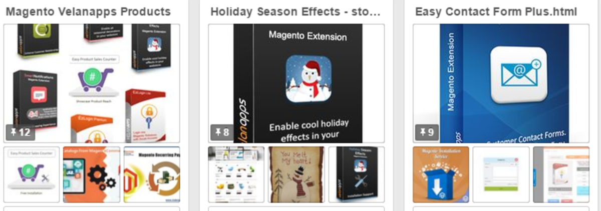 Headline for Holiday Season Effects in Magento