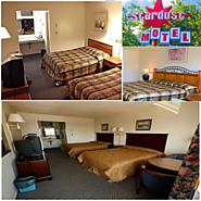 Enjoy your travel stay by Room Bookings at Stardust-motel