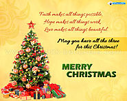 Merry Christmas Greetings | Christmas Wishes Messages