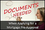 Common Documents Needed When Applying For Mortgage Pre-Approval