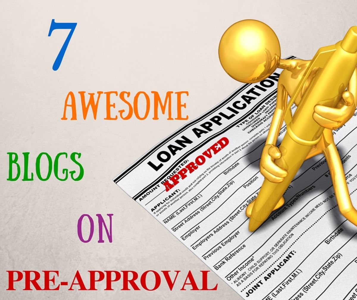 Headline for 7 Awesome Blogs On Pre-Approval