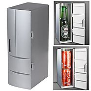 Allnice® Heat and cold Dual-use Portable Mini USB PC Refrigerator Fridge Cooler and Warmer Beverage Drink Cans Freeze...