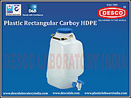 Rectangular Carboy Manufacturers India | DESCO India