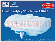 Handyboy With Stopcock HDPE India | DESCO India