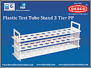 Test Tube Stand with 3 Tier Manufacturers | DESCO India