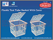 Plastic Test Tube Basket Manufactures | DESCO India