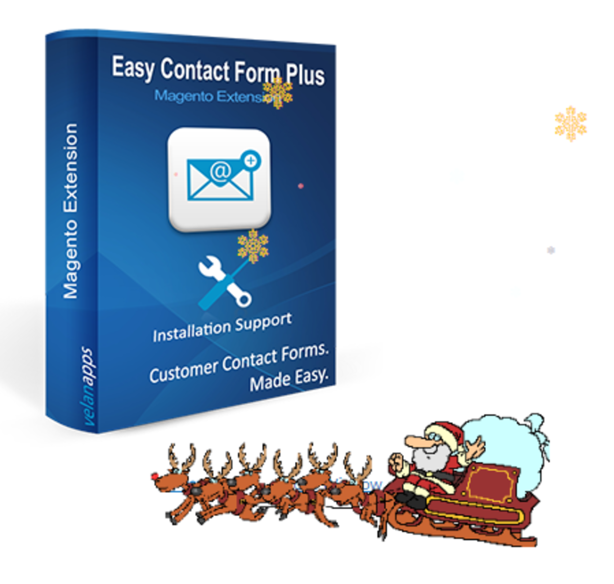 Headline for Easy Contact Form Plus - Magento Extension - velanapps
