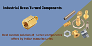 Brass turned components are made using the latest technologies